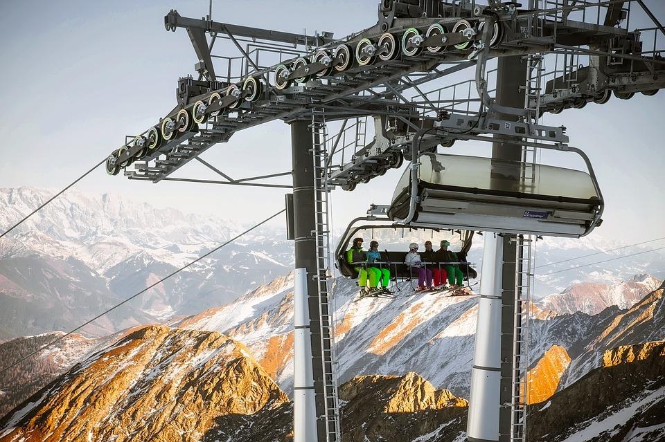 Lyžování na nejoblíbenějších místech v Rakousku