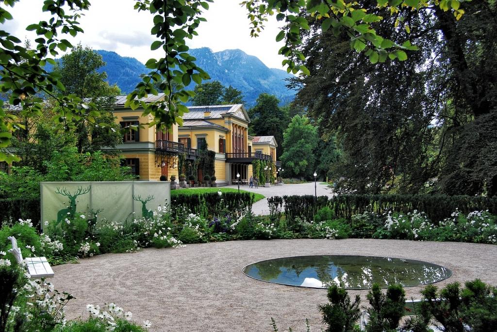 Solné lázně v Bad Ischl
