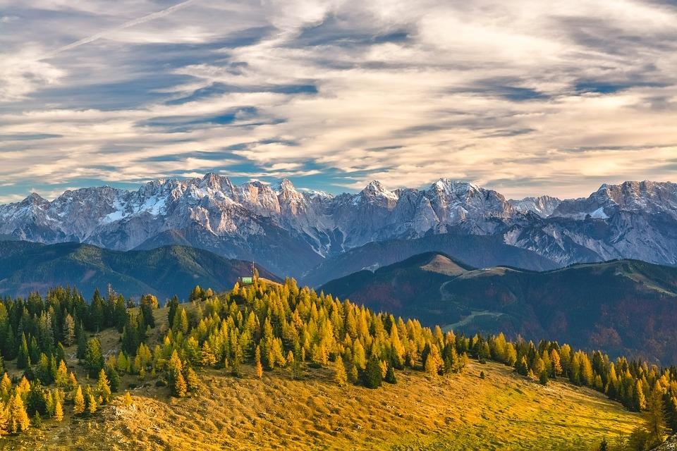 Panoramata v údolí Gastein
