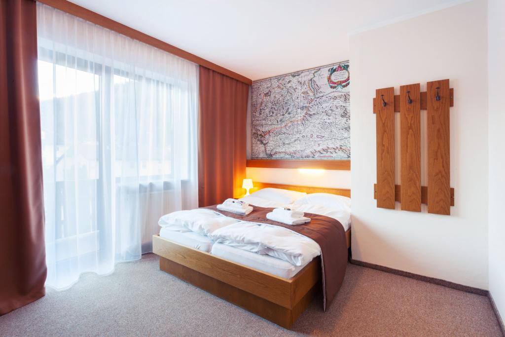 Dvoulůžkový pokoj s balkonem Economy